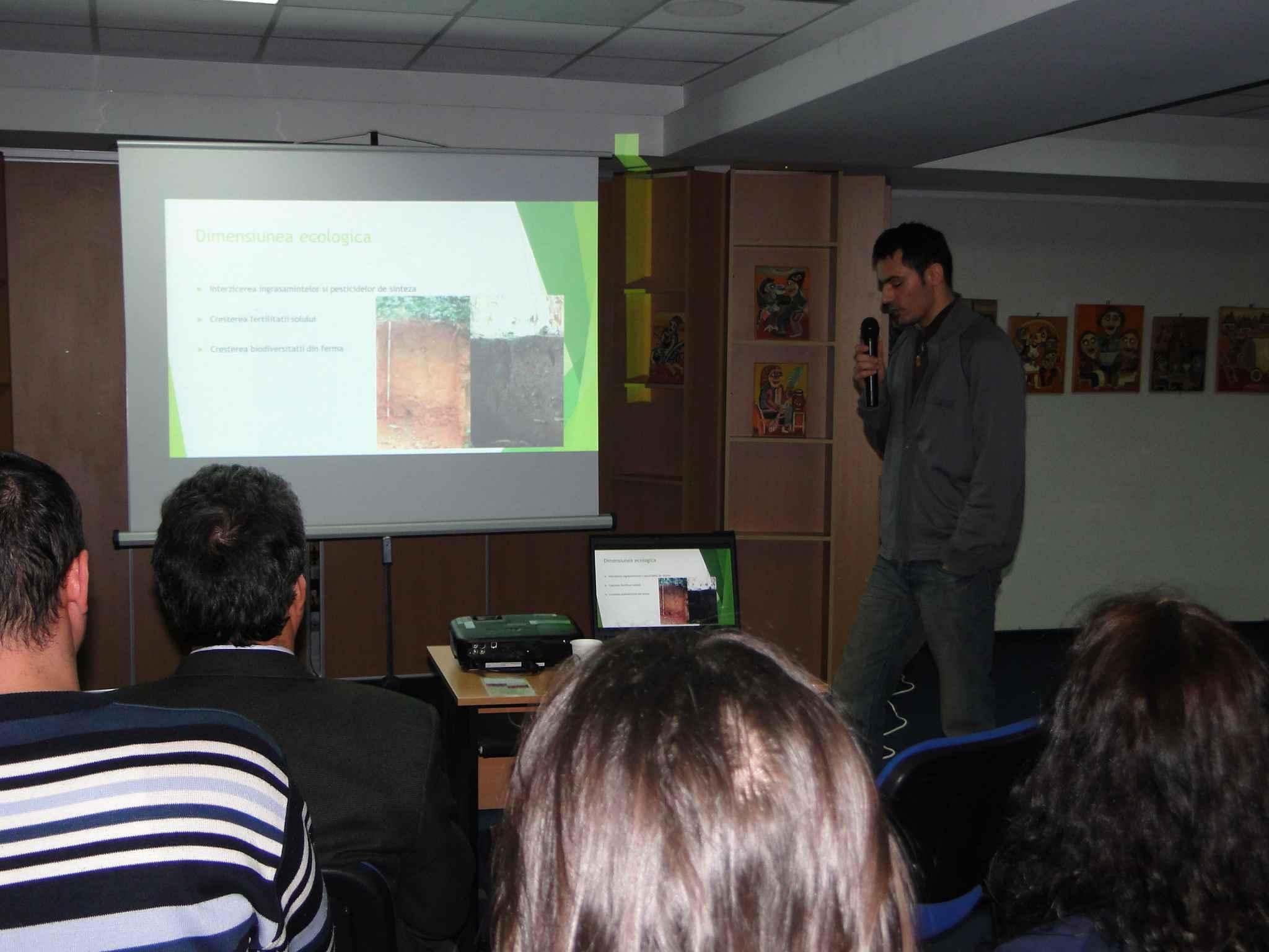 Prezentare agricultura ecologica Bacau